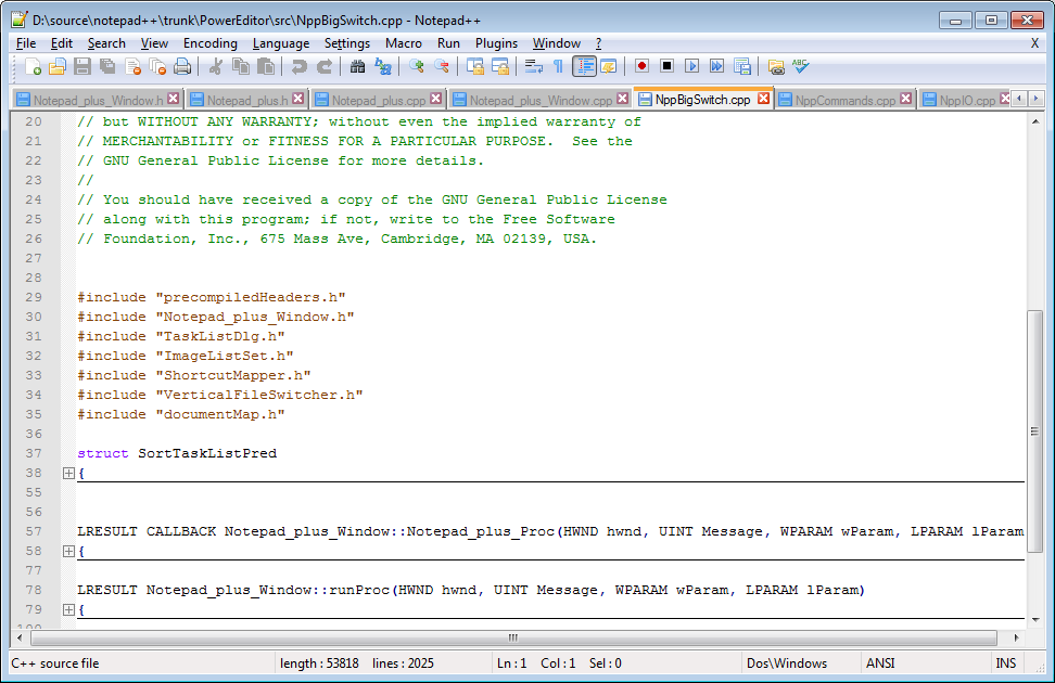 notepad ++ php editor