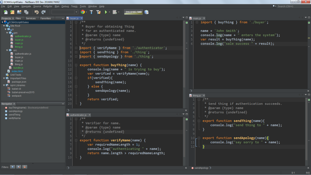 Netbeans vs Eclipse